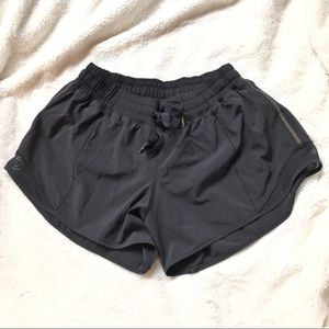 "Lululemon Hotty Hot Short Black 4"" NWOT"